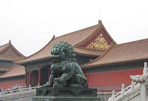 Forbidden City Lion 205